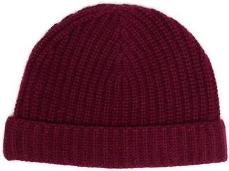 Il Gufo Ribbed Knit Hat