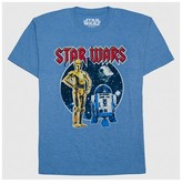 Star Wars Boys' T-Shirt - Light Blue Heather