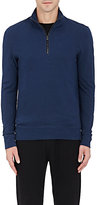 Michael Kors MEN'S COTTON PIQUÉ HALF-ZIP SWEATER