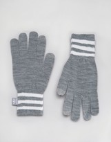 adidas Gloves In Gray AY9076