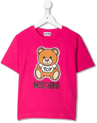 MOSCHINO BAMBINO Teddybear short sleeve T-shirt