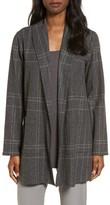 Eileen Fisher Women's Plaid Kimono Jacket