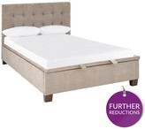 Abigail Fabric King Lift Up Bed + 800 Pocket