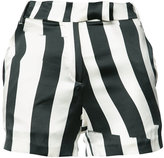 Ann Demeulemeester striped shorts - women - Silk/Cotton/Spandex/Elastane/Rayon - 36