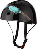 Kiddimoto Black Goggle Helmet