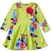 Joules Baby/Little Girls 12 Months-3T Allover Print Jersey Fellie Dress