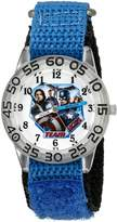 Marvel Boy's 'Civil War' Quartz Plastic and Nylon Automatic Watch, Color: (Model: W003119)