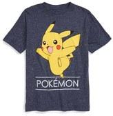 JEM Boy's 'Pokemon - Pika Jump' Graphic T-Shirt