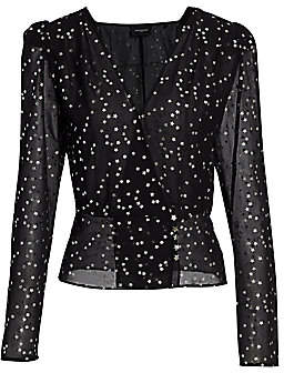 The Kooples Women's Star Print Blouse