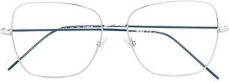 HUGO BOSS Square-Frame Glasses