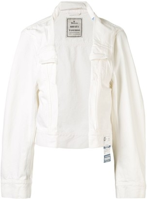 Maison Mihara Yasuhiro Asymmetric Denim Jacket