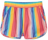 Gap Tropical stripes dolphin shorts