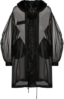 Mr & Mrs Italy Oversized Sheer Style Jacket