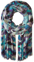 Bindya Art Background Cashmere/Silk Wrap
