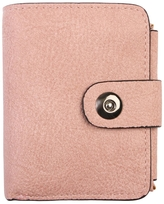 Riah Fashion Pink Faux Leather Wallet