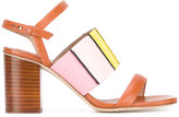Paul Smith strappy block heel sandals - women - Leather - 36