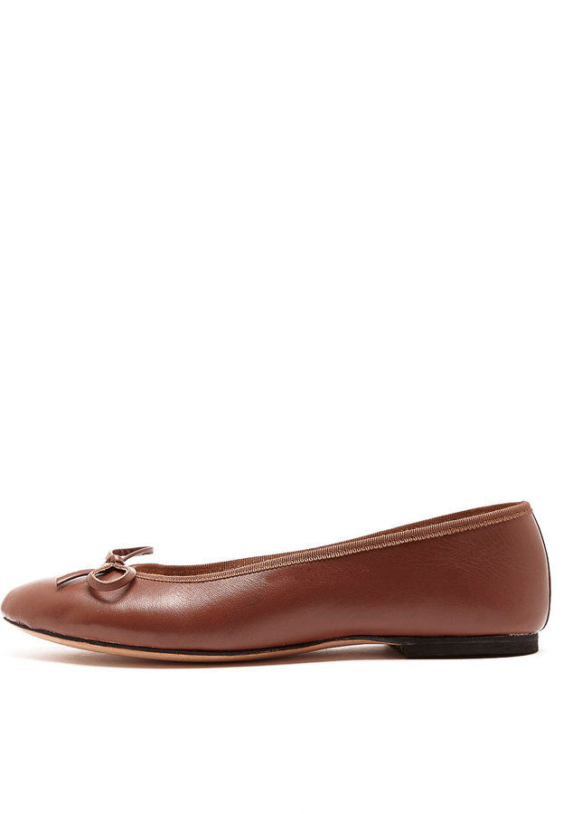 American Apparel Leather Ballet Flat