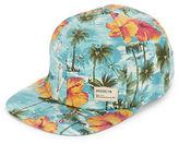 Dorfman Pacific Hawaiian Print Flat Bill Hat
