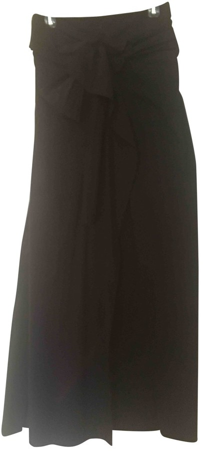 Joseph Black Cotton Dress for Women