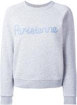 MAISON KITSUNÉ 'Parisienne' print sweatshirt - women - Cotton - M