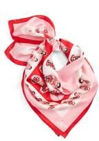 Kate Spade Women's Nesting Dolls Silk Scarf