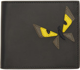 Fendi Black Butterfleyes Wallet