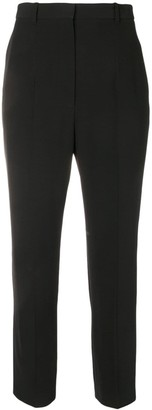Alexander McQueen Cropped High-Waisted Trousers