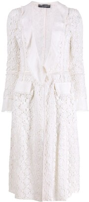 Dolce & Gabbana Pre-Owned 1990's Lace Jacket