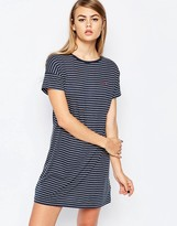 Fred Perry Striped Jersey Dress