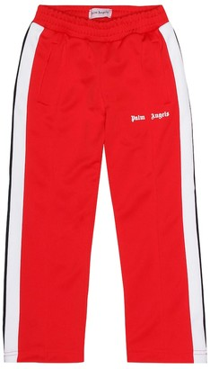 Palm Angels Kids Striped trackpants