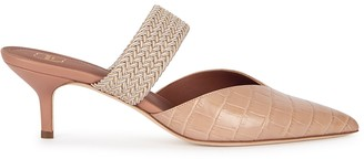 Malone Souliers Maisie 45 Brown Leather Mules