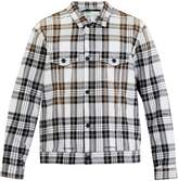 Off-White Check-print two-pocket jacket