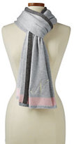 Lands' End Women's Cashmere Scarf-Chili Pepper