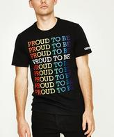 Converse Proud To Be Stacked T-shirt Black