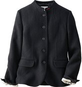 Uniqlo Women Idlf Soft Tweed Stand Collar Jacket