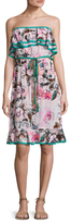 Plenty by Tracy Reese Floral Print Flounce Dress