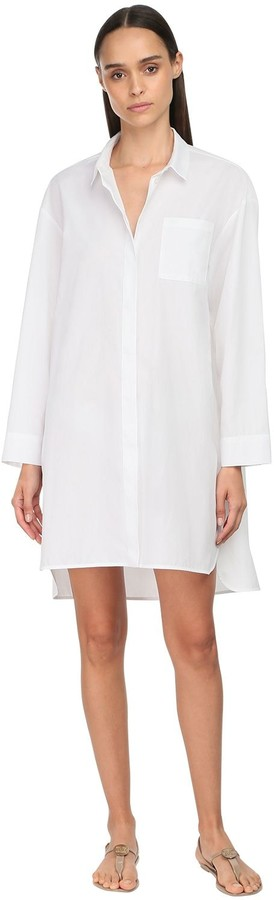 S Max Mara Cotton Poplin Shirt Dress
