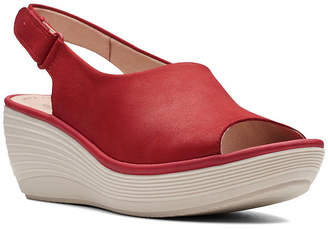 Clarks Collection Women Reedly Shania Wedge Sandals Women Shoes