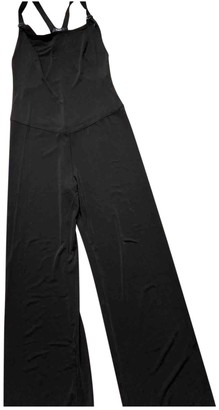 Eres Black Synthetic Jumpsuits
