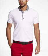 Express Contrasting Collar Signature Polo