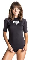 Roxy Women's Whole Hearted Short-Sleeve Rashguard