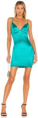 superdown V Neck Mini Dress