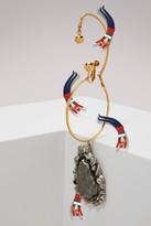 Alexander McQueen Brass earring