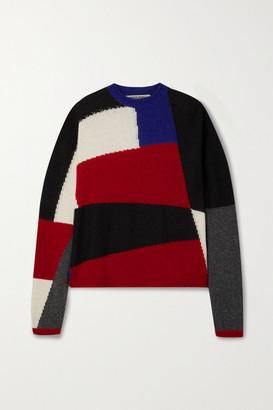 Paradis Perdus Net Sustain Joseph Color-block Knitted Sweater