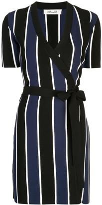 Dvf Diane Von Furstenberg Iris knit wrap dress