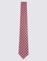 M&S Collection Floral Print Tie