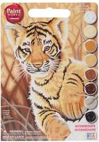 """Dimensions Paint Works Paint By Number Kit 9"""" x 12"""" - Tiger Cub"""