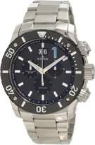 Edox Men's Chronoffshore 45mm Steel Bracelet & Case Sapphire Crystal Quartz Dial Watch 10021-3-NBU