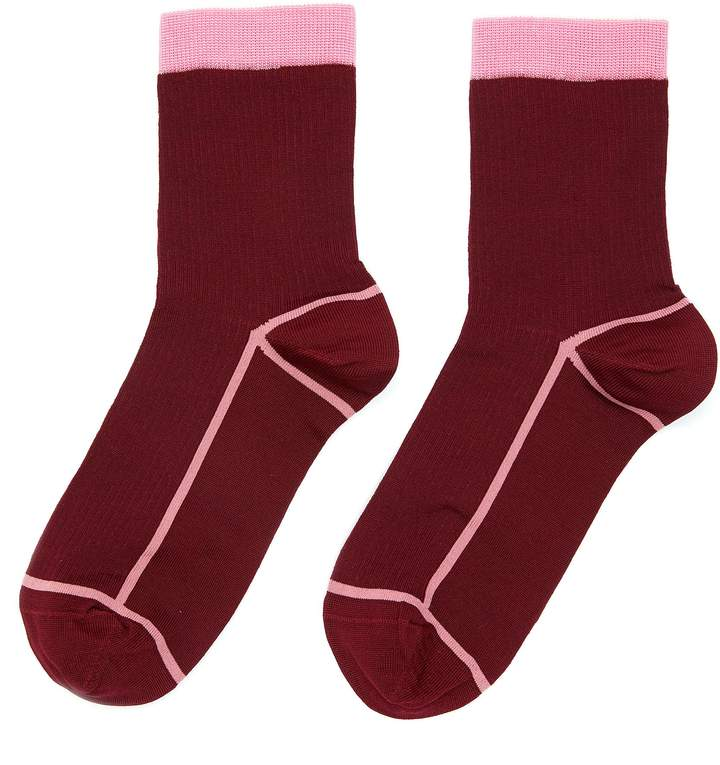 Hysteria By Happy Socks 'Lily' ankle socks
