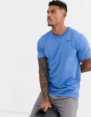 Nike Training t-shirt in blue